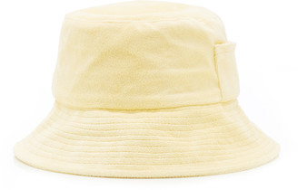 LACK OF COLOR Wave Cotton Terry Bucket Hat