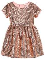 H&M Sequined Dress - Pink/gold-colored - Kids