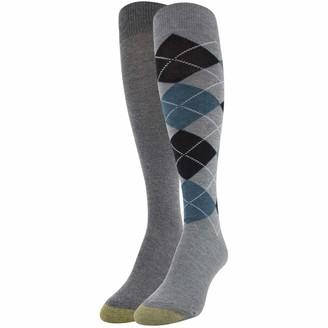 Gold Toe Women's Argyle Knee High Socks 2 Pairs