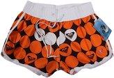 YOUJIA Women Boardshorts Beach Short Pants Casual Print Swimming Trunks (L,)