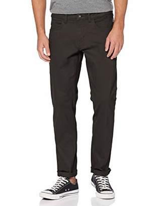 Napapijri Men's Maun Trouser, (Black 041), (Size: 35)
