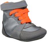 Stella McCartney Pop Baby Boy High Top Crib Shoe (Infant) - Gray-3 Infant