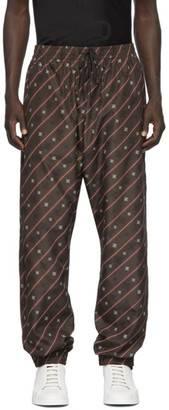 Fendi Brown Karligraphy Lounge Pants