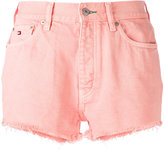 Tommy Jeans high-waisted shorts - women - Cotton - 25