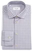 Eton Men's Contemporary Fit Check Dress Shirt