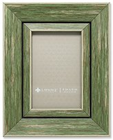 Lawrence Frames Weathered Decorative Picture Frame, 4 by 6-Inch, Green