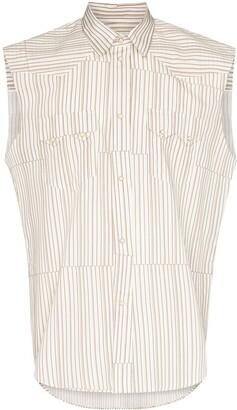 Phipps Rockhound striped sleeveless shirt