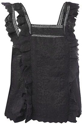 Frame Katie Lace Top