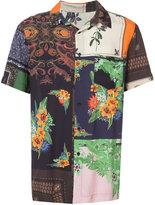 OSKLEN patchwork print shirt - men - Viscose - P