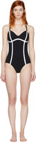 Ward Whillas Black Delrey Swimsuit