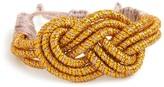 BaubleBar Sequence Gold Knot Bracelet