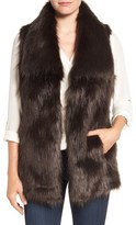 Via Spiga Women's Faux Fur Vest