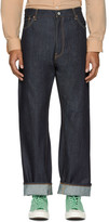 Junya Watanabe Indigo Levi's Edition Selvedge Denim Jeans