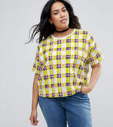 Asos Top In Gingham