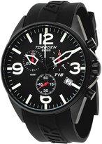 Torgoen Swiss Men's T16301 Aviation Chronograph Dial Polyurethane Strap Watch