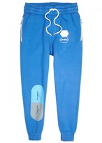 Off-White Printed Cotton Jogging Trousers