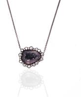 Purple Geode Pendant