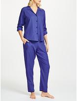 Cyberjammies Sadie Spot Print Pyjama Set, Blue