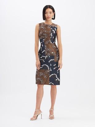 Oscar de la Renta Magnolia Blossom Dress