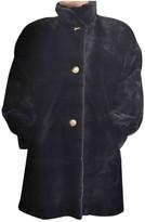 Jean Louis Scherrer Jean-louis Scherrer Blue Mink Coat for Women Vintage