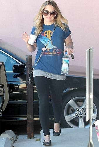 Yosi Samra Glitter Cap Toe Studded Flat as Seen On Hilary Duff