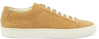 Common Projects Original Achilles Suede Trainers - Mens - Tan