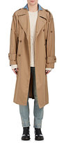 Maison Margiela Men's Cotton Twill Belted Trench Coat