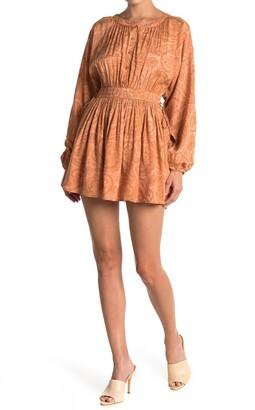 Amuse Society Luciana Long Sleeve Woven Dress