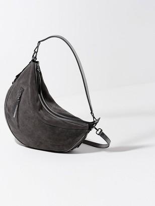 Mint Velvet HarrietSuede Hobo Bag - Grey