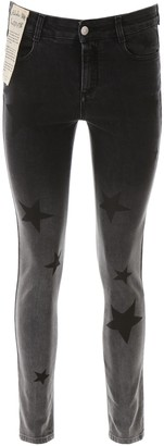 Stella McCartney Skinny Star Print Jeans