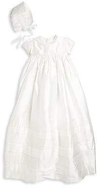 5c9ffa2511a8 Isabel Garreton Baby's Two-Piece Lovely Silk Christening Gown & Bonnet Set