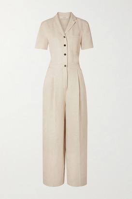 BEIGE Lvir LVIR - Linen Jumpsuit
