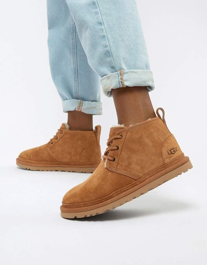 eb2172628e0 Neumel Chestnut Lace Up Ankle boots