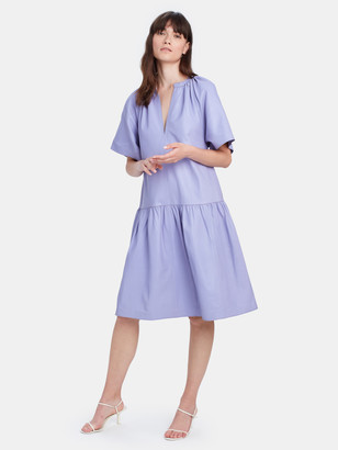 Stand Studio Kaitlyn Leather Mini Dress