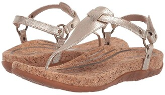 Aetrex Emilia (Pewter) Women's Sandals