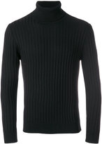 Eleventy turtleneck ribbed jumper