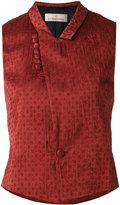 A.F.Vandevorst wrap top - women - Polyester/Cupro - 36