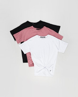 Silent Theory Downtown Tie Tee 3-Pack