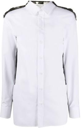 Maison Margiela Geometric Lace Back Shirt