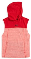 Under Armour Boy's Select Sleeveless Hoodie