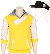 CG Costume Men's Pokemon Go Trainer Hoodie PokeBall Cosplay Costume XXLarge