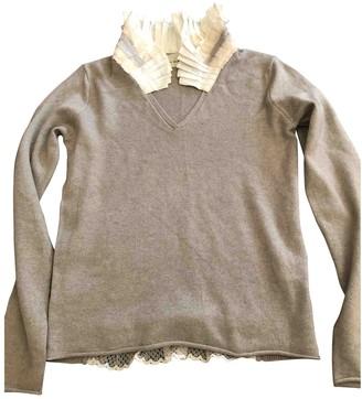 Schumacher White Cashmere Knitwear for Women