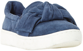 Dune Ebow Slip On Trainers, Navy