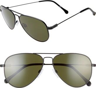 ELECTRIC AV1 60mm Aviator Sunglasses