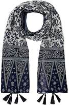 Barneys New York WOMEN'S BANDANA-PRINT SCARF
