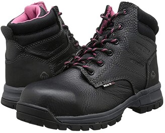 Wolverine Piper Waterproof Composite Toe 6 Boot. (Black) Women's Boots