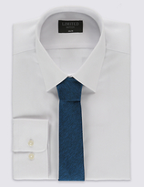 Limited Edition Slim Fit Easy To Iron Shirt With Tie