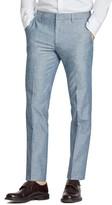 Bonobos Men's Flat Front Solid Cotton Trousers