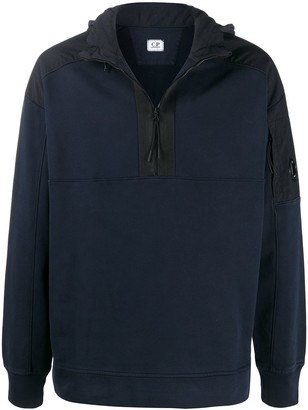 C.P. Company Diagonal Fleece Cotton Sweatshirt