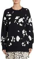 Marc Jacobs Dalmatian Print Cotton Sweater